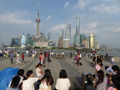Shanghai Blick auf Pudong © Schwertfeger