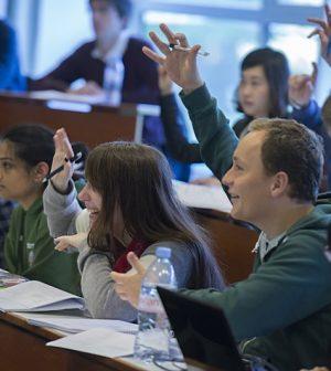 Studenten an der HEC Paris