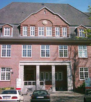 Eingang Hamburg Media School